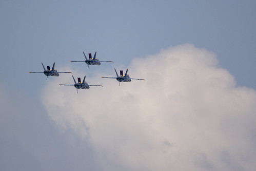 Blue Angels Rehearsal
