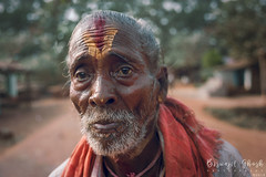 Holy man (Biswajit Ghosh'76) Tags: ngc portrait street india mood oldman