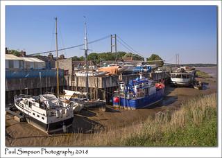 Barton upon Humber boat yard