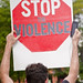 Anti-Violence Protesters Attempt to March on the I-90 Expressway Park Ridge Illinois 9-3-18 3546