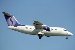 OO-DJK British Aerospace 146 Avro RJ85 SN Brussels Airlines (pslg05896) Tags: oodjk bae146 avro rj85 snbrusselsairlines lhr egll london heathrow