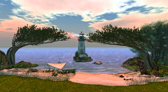 Resting Place (G. Inc.) Tags: secondlife 3d sl virtualworld rendering landscape lindenlab metaverse seaside