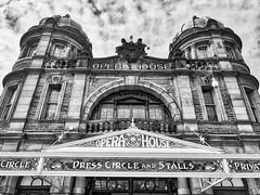 BUXTON Opera House (HelenBushe) Tags: buxton monochrome opera house architecture