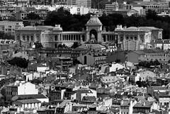 Palais Longchamp à Marseille, depuis Notre-Dame de la Garde... Reynald ARTAUD (Reynald ARTAUD) Tags: 2018 provence marseille palais longchamp depuis notredame garde reynald artaud