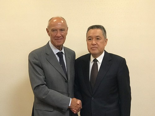 WIPO Director General Meets Minsiter of China's State Administration for Market Supervision