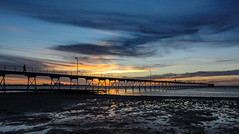_DSC8219.jpg (David Hamments) Tags: trek silhouette adelaidetoceduna ceduna jetty sunset transaustraliatrip fisherman