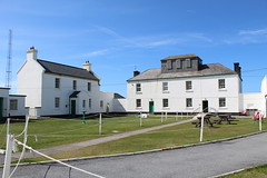 The building on the right had a nice museum about the history of the lighthouse (debstromquist) Tags: loopheadlighthouse lighthouses countyclare kilbaha ireland spring wildatlanticway