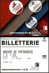 ephemera - Bayeux Museum entry ticket x (Jassy-50) Tags: ephemera entryticket ticket bayeuxtapestrymuseum bayeuxmuseum museum bayeuxtapestry bayeux france