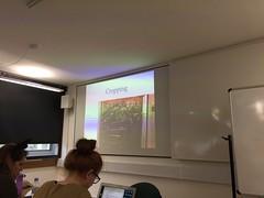 Guest Lecture, UCL Institute of Archaeology Museum Studies Seminar, 31 October 2017 (MuseumOfPortableSound) Tags: lecture talk ucl instituteofarchaeology museumstudies seminar universitycollegelondon london uk