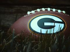 Football (marymorano) Tags: football balls sports backyard backgrounds outdoors wisconsin greenbaypackers