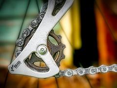 Sprocket (Colin-47) Tags: sprocket deraileur chaintensioner chain shimano cycle colin47 panasonicdmcg80 olympusmzuiko25mmf18 2018 september