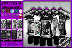 [TD] W.I.C.C.A Tank [01] (.☣.†ᴏxɪᴄÐᴏɪɪs.☣.) Tags: tank male man guy top muscle sl secondlife slink singlet shirt signature gianni gothic grunge goth product punk aesthetic adam belleza david jake nx nardcotix fashion fitted fitmesh fair darkness thedarknesssevent event exclusive toxic toxicdolls tmp wicca