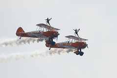 Bournemouth Airshow 2018 - 66 (D.Ski) Tags: wingwalkers flyingcircus bournemouth airshow bournemouthairshow bournemouthairfestival 2018 airplane aircraft planes display flying england southcoast uk nikon d700 nikond700 200500mm