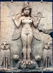 Queen of the night (smallcurio) Tags: queenofthenight burneyrelief 200307181 mesopotamia