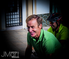 DIABICICLETA18FONTANESA13 (PHOTOJMart) Tags: fuente del maestre jmart bacalones retrato amigo bike bici paseo extremadura dia de la biciclet