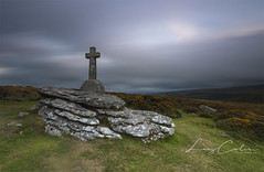 Cave Penny Cross (Coless66) Tags: beautiful dartmoor cross sunset longexposure green boulders skies westcountry bible moorland evening rememberance war wartime 1918 june palestine views gorse heather canon7d 1020mm lizcolesphotography life friends family sherwell corndondown