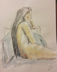 9.19.18 Wild Goose #lifedrawing (Howard TJ) Tags: lifedrawing female drawing wild goose columbus