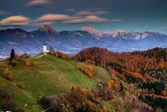 Jamnik Autumn (hapulcu) Tags: alpen alpes alpi alpine alps eslovenia jamnik kranj slovenia slovenie slovenija slowenien automne autumn autunno chapel herbst toamna