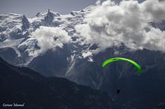 I believe I can fly... (corinnemorand) Tags: parapente paragliding montblanc alpes hautemontagne hautesavoie alps auvergnerhônealpes montagne mountain passy plainejoux