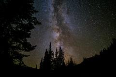 Conundrum Hot Springs: Milky Way (Zachary Reiss-Davis) Tags: conundrumhotspringsaspencolorado landscapeandscreensaverphotography milkyway backpacking nightphotography aspen colorado unitedstates us