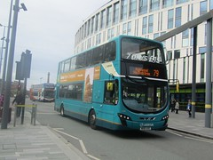 Arriva North West 4466 MX61AXG Liverpool ONE Bus Stn on 79 (1280x960) (dearingbuspix) Tags: arriva arrivanorthwest mx61axg 4466
