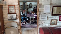 VID_20171007_105342557 (clay53012) Tags: fall village kids pumpkins crafts ropemaking antiques trainstation harvest face pinting music tractor printingpress outhouse wagonrides generalstore hitnmiss blacksmith spinningwheel barn silo washtub hammerdulcimer zither