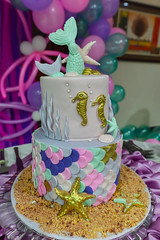 Ocean Life Theme Cake (Asif Saeed [....DOCUMENTING PAKISTAN...]) Tags: party candy cake birthday happybirthday asifsaeed indoor colors