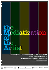 The Mediatization of the Artist - poster (Richard Pijs) Tags: posters