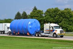 Challenger Peterbilt 567 (Trucks, Buses, & Trains by granitefan713) Tags: truck bigtruck bigrig heavyduty tractortrailer sleeper sleepertractor peterbilt peterbilt567 567 challenger heavyhaul lowboy lowboytrailer