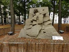 Katsu Chaen Bijinga Japonisme (Marcel Kochen) Tags: katsuchaen bijingajaponisme bijinga japonisme zandsculptuur sculptures wssa feestaanzee badplaats scheveningen langevoorhout denhaag thehague