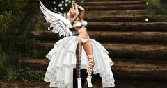 angel of light (cassianamorigi resident) Tags: itsgau angel pray nature beauty rezology eve lure lumipro