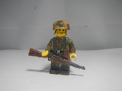 Fallschirmjager (krutoclassnie raboty) Tags: ww2 fallschirmjager lego nazi brickarms 1944 custom german