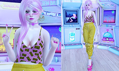 GAME OVER (LittleRen Resident) Tags: catwa omega maitreya bento mesh nyne enfer sombre the sugar garden tsg cowtea ambers apples sweet evil michan pseudo epic kio gimme gacha group gift freebies n21 tres chic second life fashion new hot kawaii cute pastel event