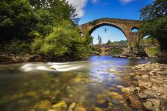 Asturias, España... (elpitiuso) Tags: longexposure asturias cangasdeonis river landscape seda travel paisaje