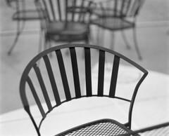 Chair of black (TPStearns) Tags: film 120 monochrome blackandwhite bw pentax67 mediumformat ilfordfp4 105mm