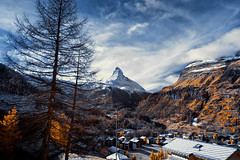 'Village', Zermatt, Switzerland (Infrared Photography- False Colors) ​ (jc reyes) Tags: travels ir infrared infraredmaster digitalinfrared infraredimages infraredworld infraredphoto irfilter irphotography colorinfrared falsecolors invisiblelight creativeir creativeiramericas creativeireurope iginfrared photography infraredcamera infraredlandscape kolarivision jawdroppingshots epiccaptures igworld nikon nikonphotography nikkor cityhall architecture matternhorn zermatt switzerland ​