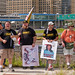 Anti-Violence Protesters Attempt to March on the I-90 Expressway Park Ridge Illinois 9-3-18 3570
