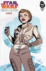 Star Wars: Forces of Destiny: Leia (cover B) (FranMoff) Tags: starwars disney princessleia hoth comicbooks leia idw forcesofdestiny princessleiaorgana