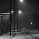 Snowy night on MLK Street thumbnail
