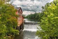 The Dells Mill (JGemplerPhotography) Tags: mill gristmill thedellsmill augusta wisconsin water river