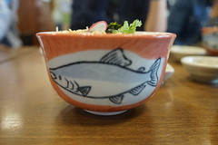 Salmon bowl (Like_the_Grand_Canyon) Tags: fish fisch market markt japan japanese sapporo hokkaido asia asian