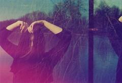 . (hjorr dis) Tags: hjorrdis 35mm revologkolor doubleexposure weepingwillow weepforme filmphotography analogue