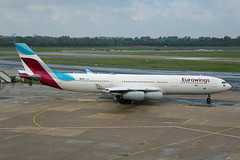 OO-SCW (afellows80) Tags: airbus a340 eurowings eddl dus
