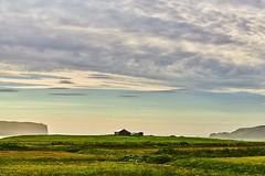 Idyllic view. Iceland. (rededia) Tags: nature landscape grassland sky clouds travel iceland nikon house