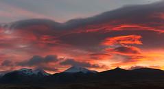 Burning Sky (timopfahl) Tags: norway norwegen rondane sunrise mountains nationalpark