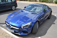 Mercedes AMG GTS (Monde-Auto Passion Photos) Tags: voiture vehicule auto automobile mercedes amg gt bleu blue coupé sportive supercar rare rareté france fontainebleau