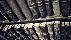 Books in black and white (vincentag) Tags: paris france library books bibliothèque nationale richelieu