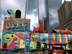 wtc (greenelent) Tags: art mural streets color worldtradecenter wtc nyc newyork 365 photoaday