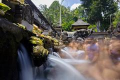 Water ceremony (clement.ponson) Tags: water religion ceremony bali ubud people long exposure longexposure canon canon6d landscape life travel trip