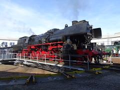 52 1360 auf der Drehscheibe (Thomas230660) Tags: dampflok steamtrain arnstadt sony museum dampf lokomotiven